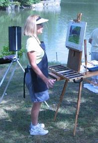 Donni Dingman Exhibition at Slayton House Reception May 22 2010