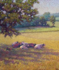 Lisa Sheppard Pastel Landscape Workshop October 292330