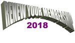 Renew Your Membership for 2018 Now until January 31 Click here FIRST to get the online LINK