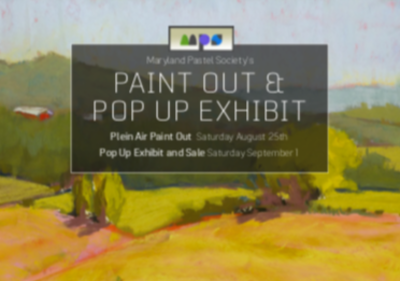 Pop-Up Plein Air Sales Event at Linganore Winery 13601 Glissans Mill Road Mount Airy Maryland