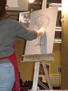 Margaret Dyer Figurative Pastel Workshop